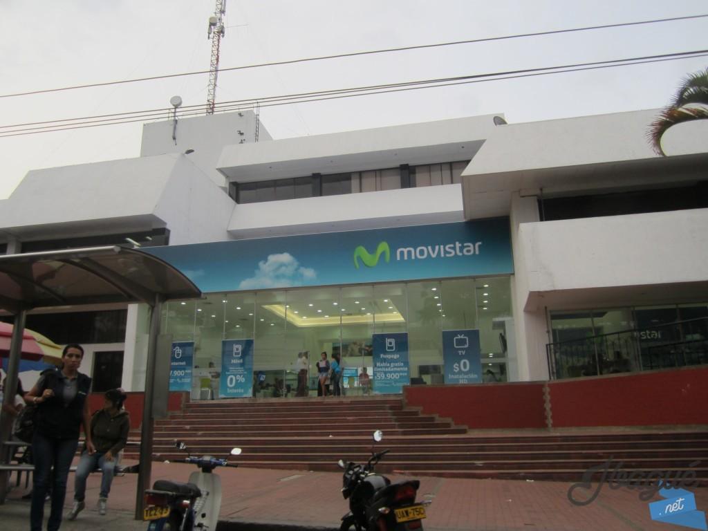 Movistar centro de atenci n y ventas en la avenida quinta for Muebles de oficina ibague