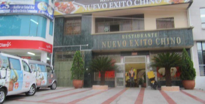 Restaurante nuevo exito chino ubicado en la carrera quinta for Restaurante chino jardin