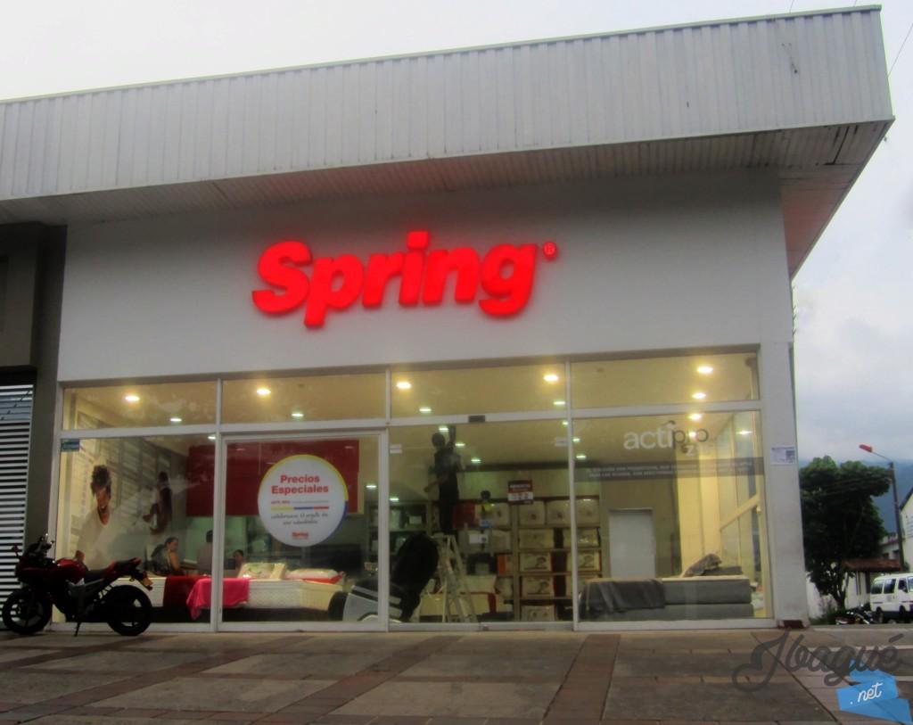 Colchones spring ubicado en la carrera quinta en ibagu - Colchones spring ...